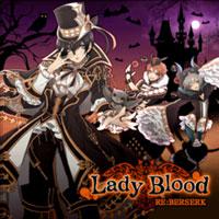 Lady Blood・ジャケット