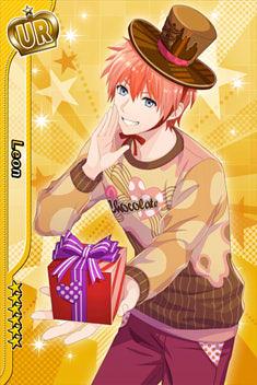 nolink,カード/レオンUR・甘いチョコのくちづけ
